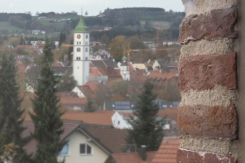 view on the city